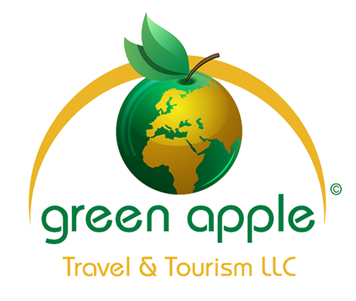 GreenApple Travel & Tourism Logo